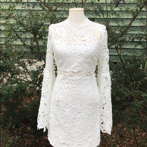 Endless Rose Willamette White Lace Dress